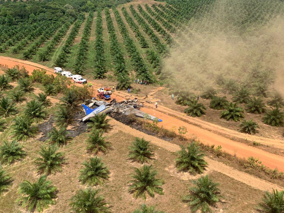 В Колумбии потерпел крушение самолет, выживших нет