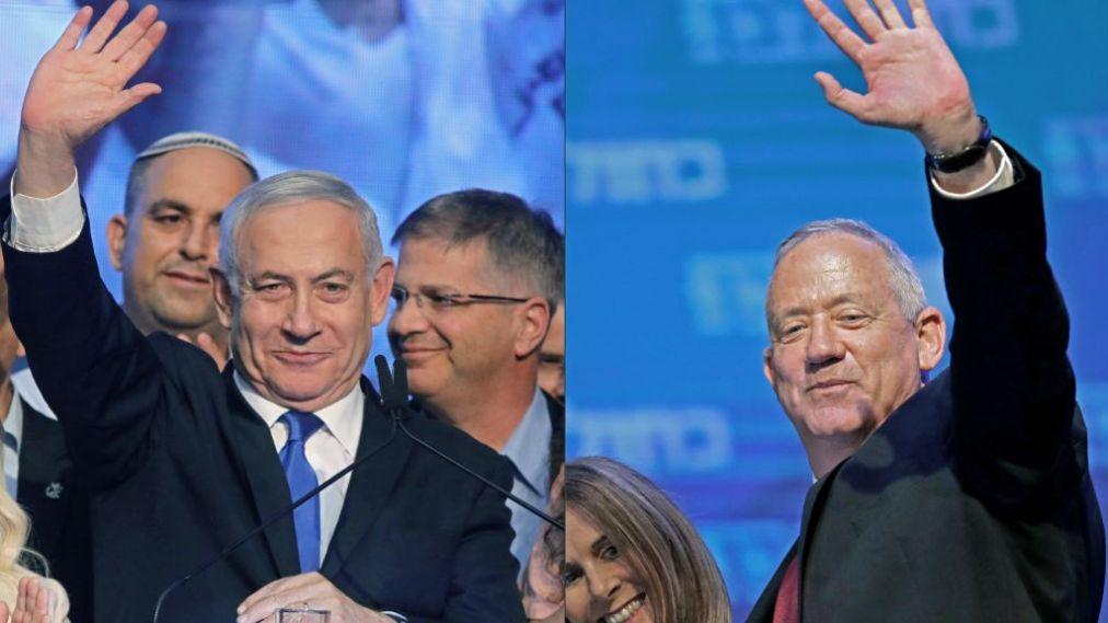 Нетаньяху предложил своему главному сопернику объединиться