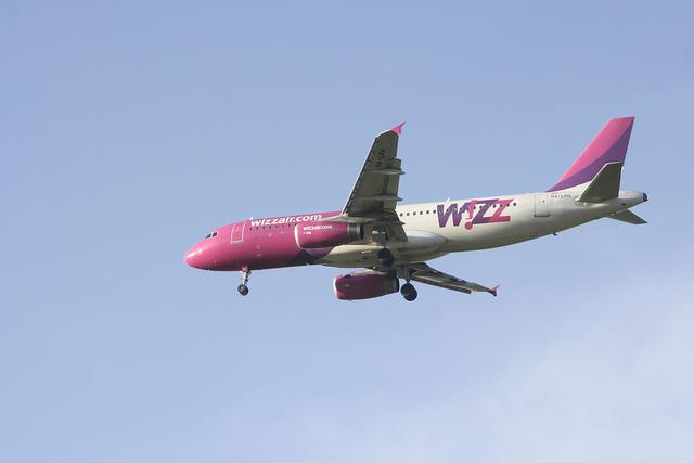 Лоукостер Wizz Air открывает три новых маршрута из Киева