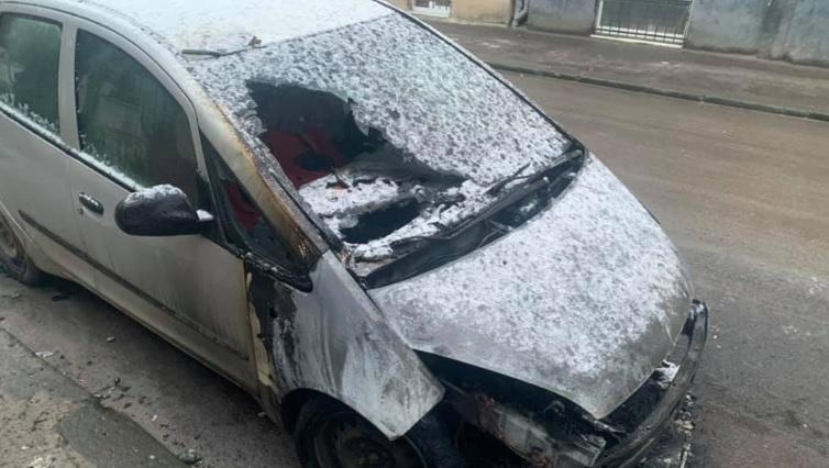 Во Львове сожгли автомобиль местной журналистки