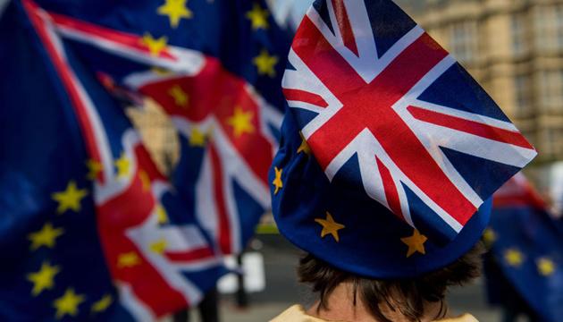 В Британии протестуют сторонники Brexit