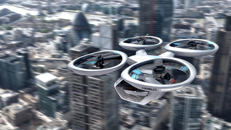Германия готова испытать летающие такси Airbus и Audi