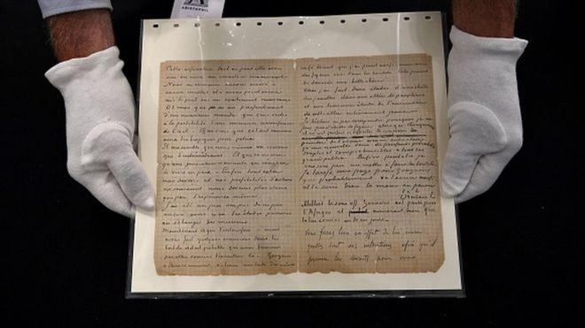 На аукционе продали письмо Ван Гога, в котором он описывал посещение бор...