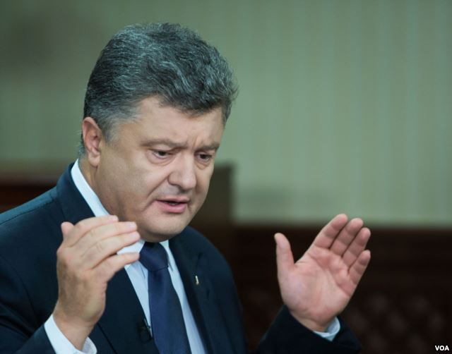 Благодаря детенизации в Украине собрано вдвое больше налогов, - Порошенк...
