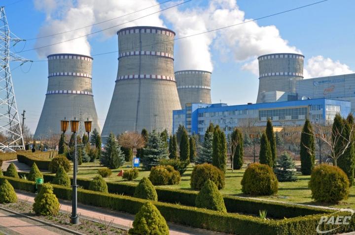 На Ровенской АЭС произошел пожар