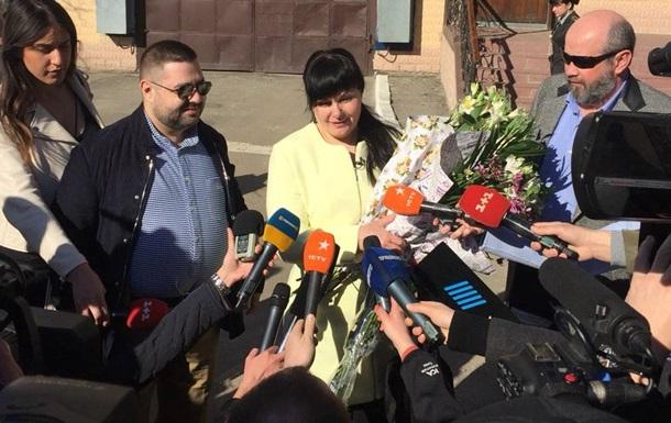 В Харькове вышла на свободу первая в Украине пожизненно осужденная