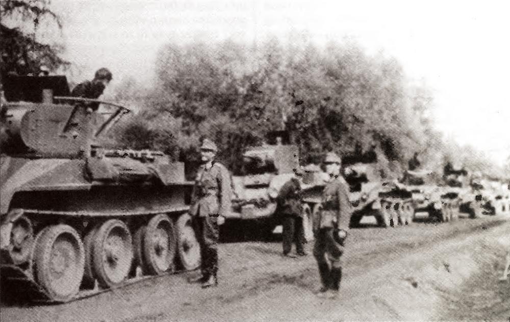 В ноябре 1919 г. польские войска остановились на линии Дрисса — Дисна.