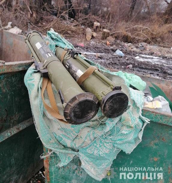 Обнаруженные РПГ-26