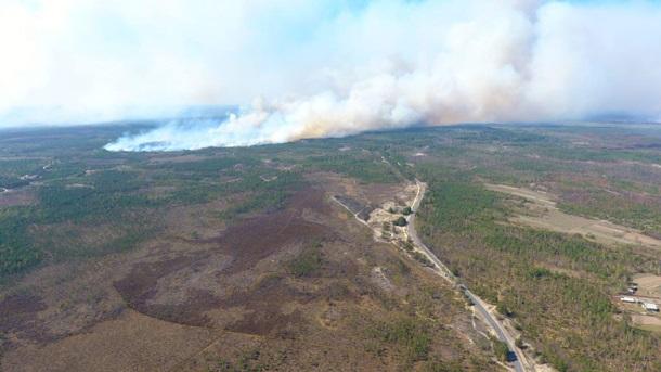 В Украину из Беларуси идут пожары
