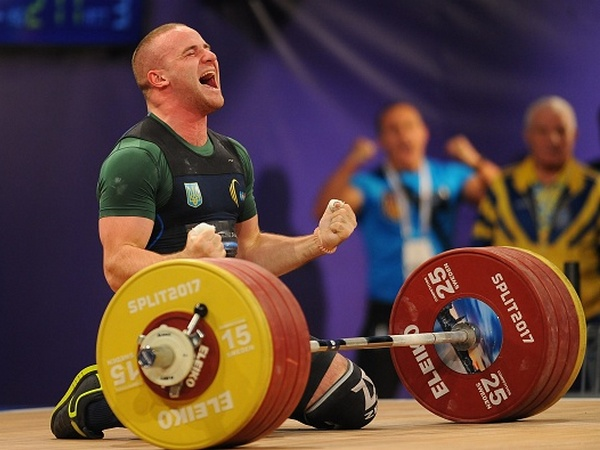 Украинский тяжелоатлет подозревается в употреблении допинга
