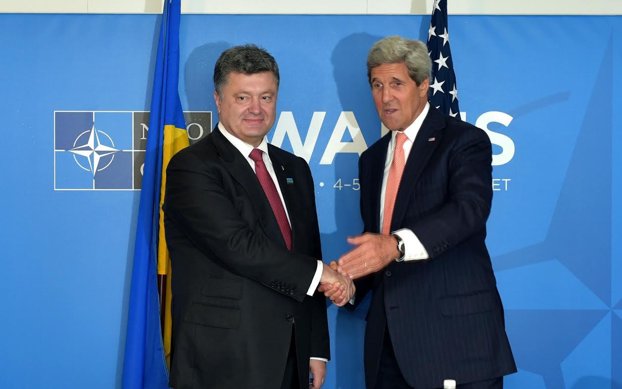 Встреча Порошенко и Керри (прямая трансляция)