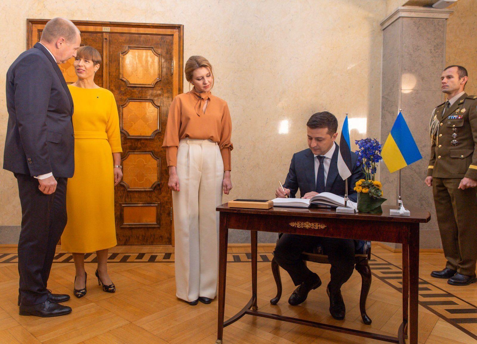 Елена Зеленская, первая леди Украины, Владимир Зеленский, супруга президента Украины, фото