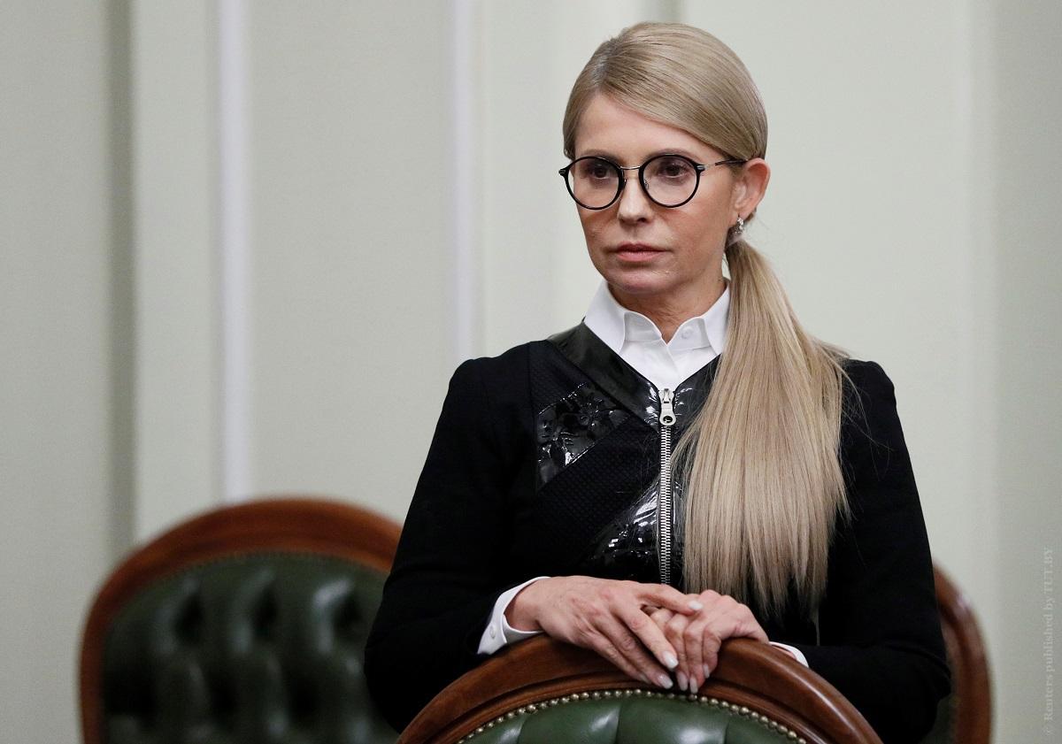 """Тимошенко назвала победу Зеленского """"третьим шансом"""" для Украины"""