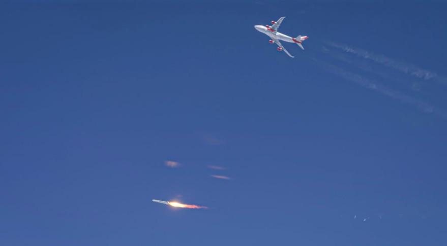 Запуск ракеты-носителя Virgin Orbit LauncherOne закончился неудачей