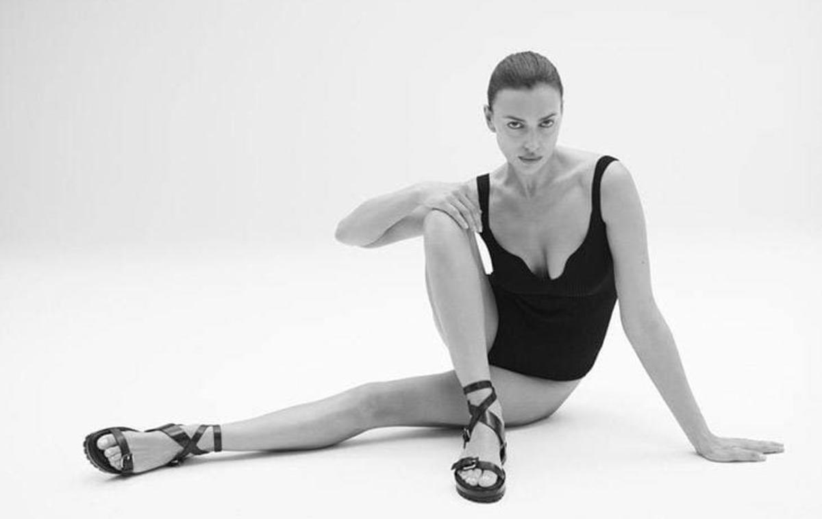 Ирина Шейк в одном боди представила дебютную коллекцию обуви (видео, фото)
