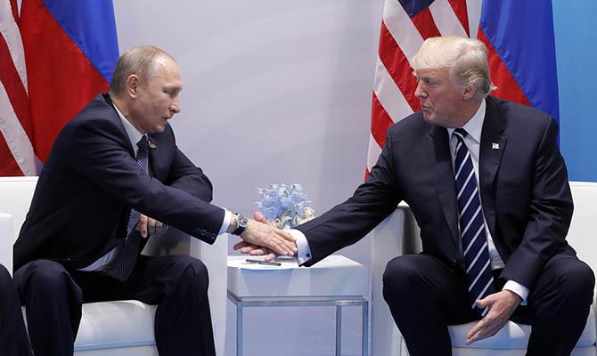 У Трампа подтвердили намерение обсудить Украину с Путиным на G20