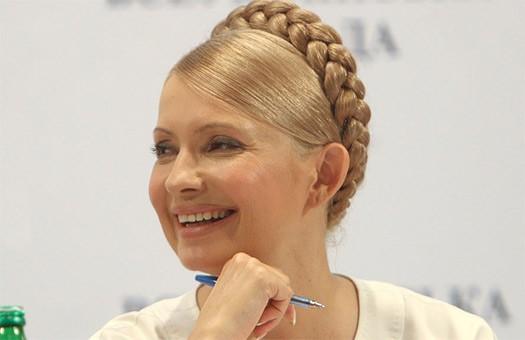 Тимошенко в Полтаве раздавала новые квартиры