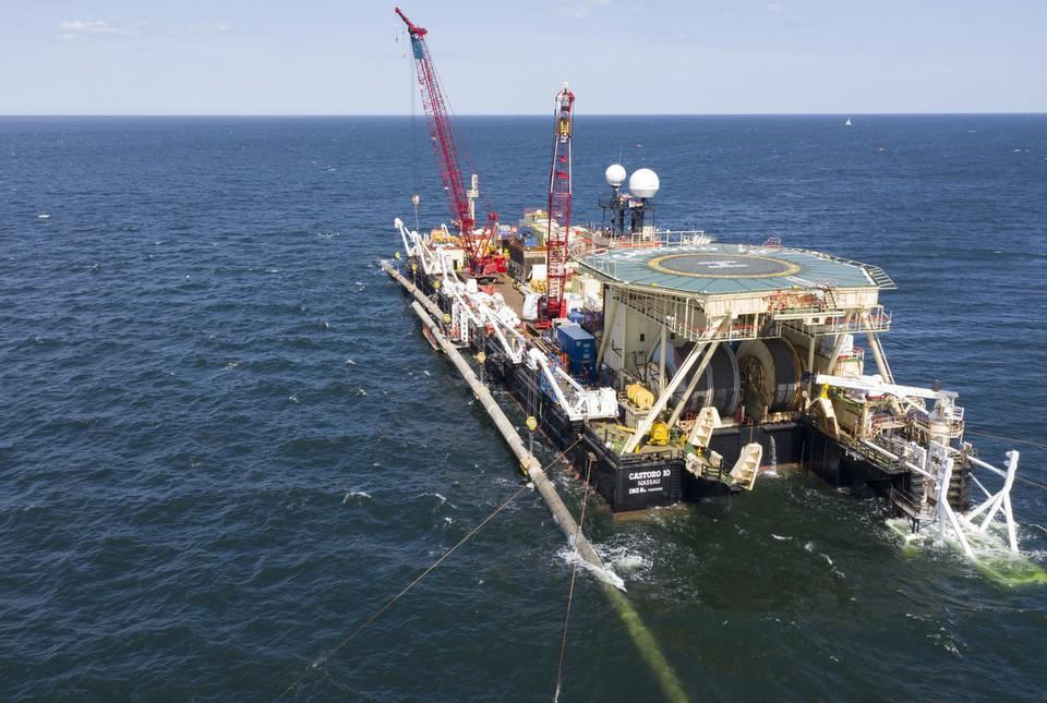 """Партнер """"Газпрома"""" впервые допустил срыв Nord Stream 2 из-за санкций США"""