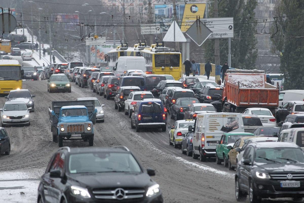 Киев и Одесса попали в ТОП-20 городов с самым загруженным трафиком в мир...