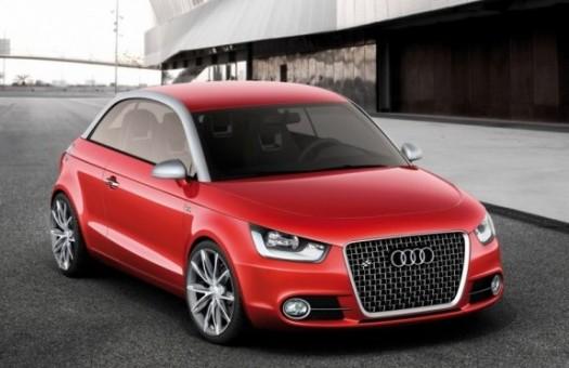 Audi A1 появится в 2010 году - на год позже обещанного