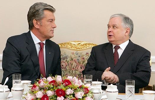 Ющенко получил из рук Качиньского орден Возрождения Польши