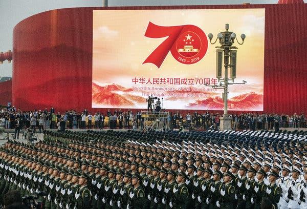 Гиперзвуковые ракеты, 160 самолетов и 580 единиц техники. В Пекине проше...