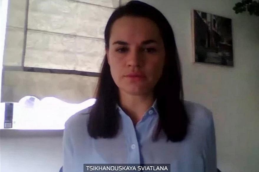 Тихановская заявила, что оппозиция в Беларуси стала властью