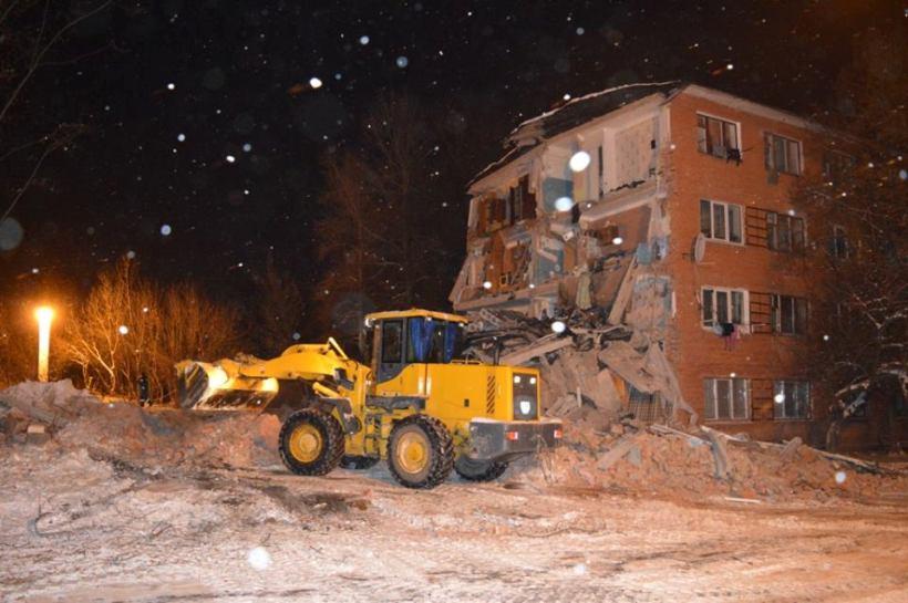 В Чернигове обрушилось общежитие, погибла женщина