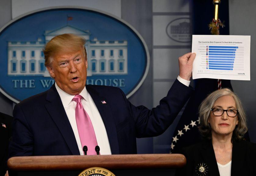 Трампа назвали главным фактором дезинформации в условиях пандемии