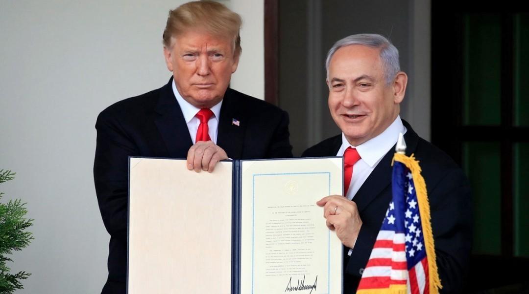 Израиль начнет строительство поселения на Голанских высотах в честь Трам...