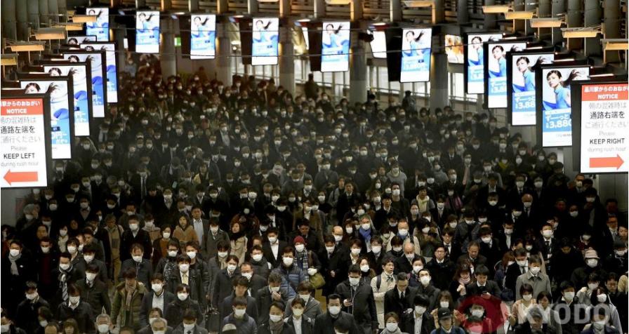 Экономика Японии обвалилась на рекордные 27,8% за квартал – впервые с 19...