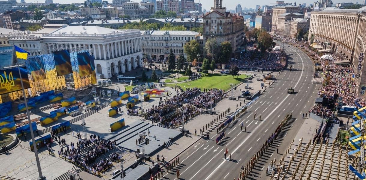 Стало известно, где 24 августа ограничат движение транспорта в Киеве