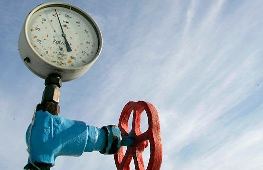 Контрактная цена российского газа для Беларуси снизилась на 42 долл