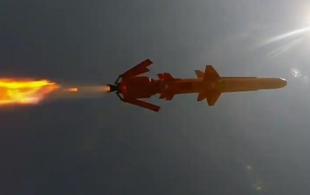 """Запуск украинской крылатой ракеты """"Нептун"""" показали на видео"""