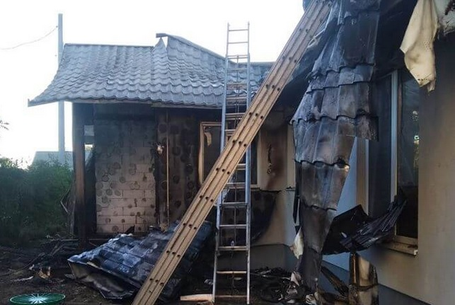 Поджог дома Шабунина: полиция открыла дело, в ЕС обеспокоены