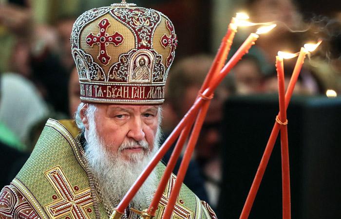 """Патриарх Кирилл считает Россию """"многострадальным отечеством"""""""