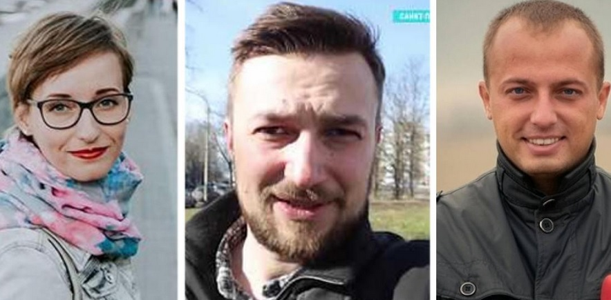 В Беларуси задержали троих журналистов. Среди них – двое украинцев