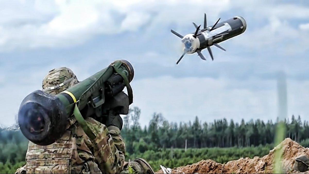 Украина получила от США ракеты Javelin