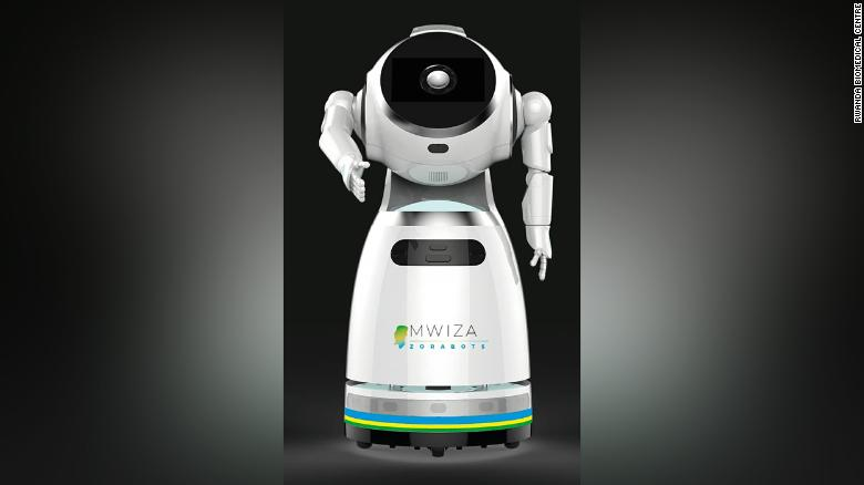 Руанда, коронавирус, роботы