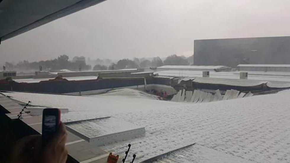 В Африке выпал снег, погибли люди
