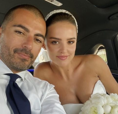 Украинская модель и дизайнер Анна Андрес вышла замуж в Каннах