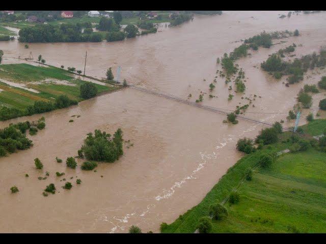 ГСЧС предупреждает о резком повышении уровня воды в реках на западе Укра...