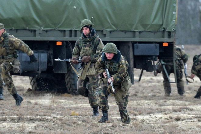 В Беларуси и Украине синхронно стартовали военные учения