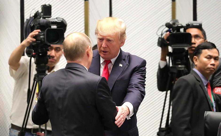 Кремль: Надеемся, до публикации разговоров Путина с Трампом не дойдет