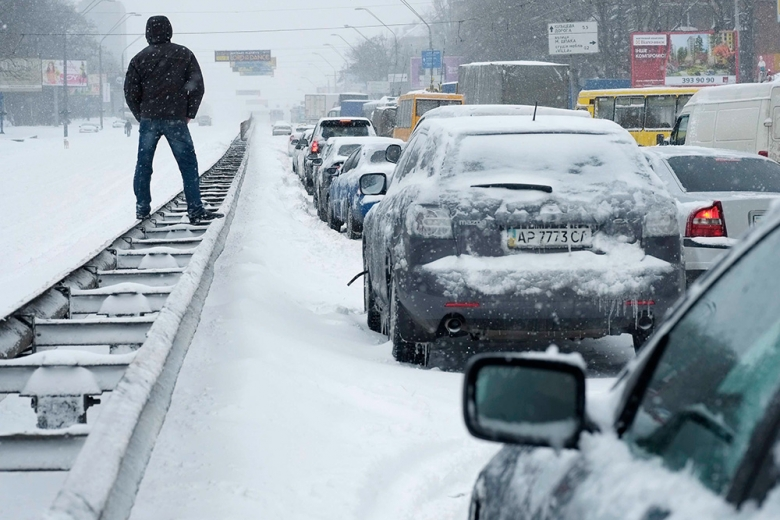 Новогодние заторы: какие улицы в Киеве перекроют 31 декабря