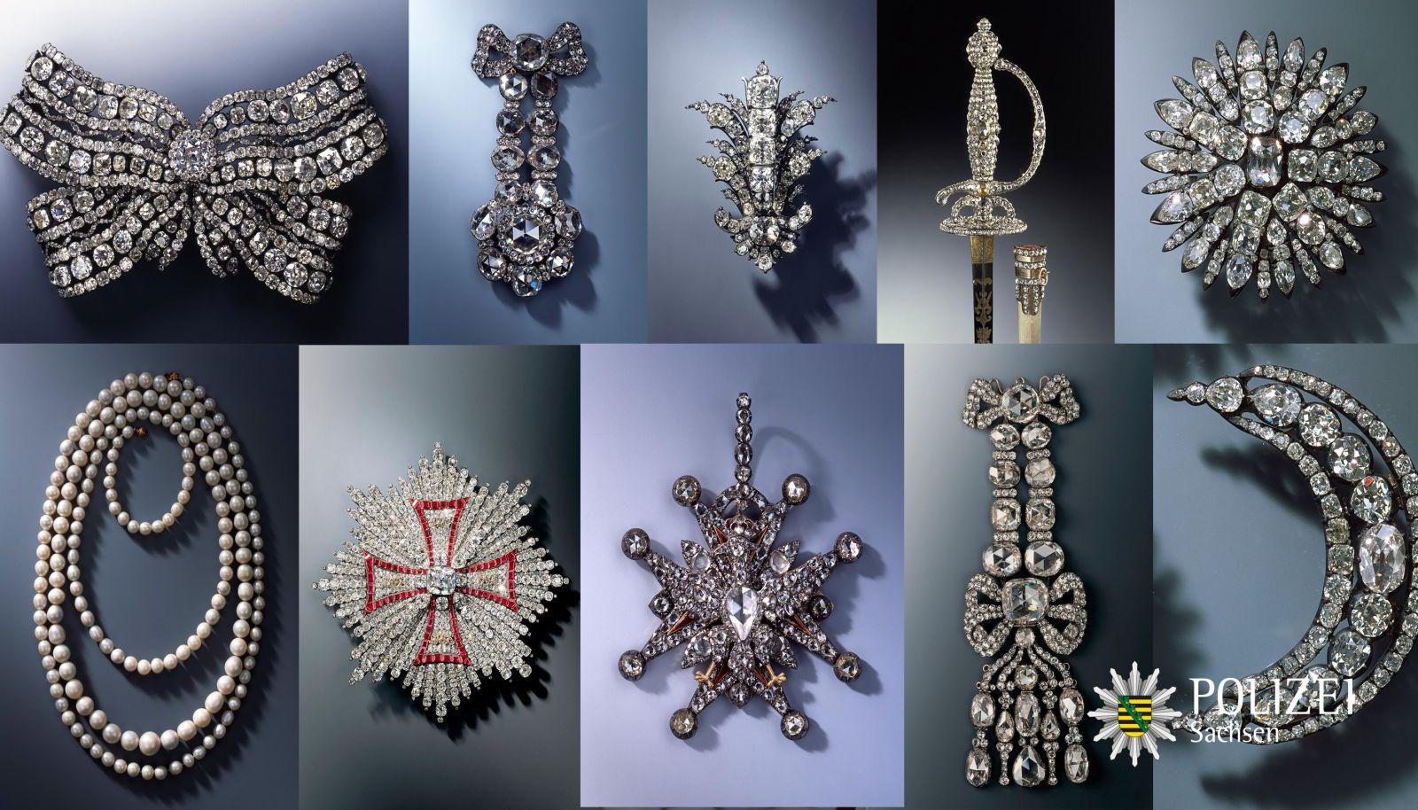 Бриллианты, мечи и броши. Что украли из сокровищницы короля Саксонии