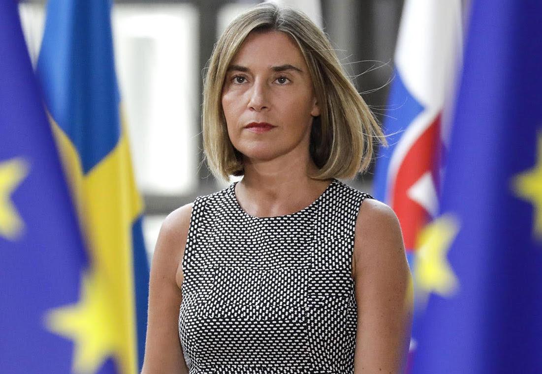 Могерини: ЕС считает Голанские высоты оккупированной территорией