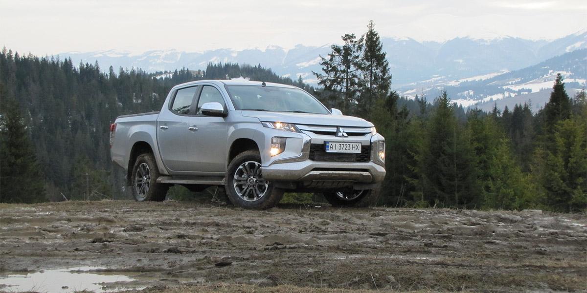 Новый Mitsubishi L200 представлен в Украине