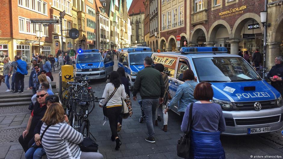 Наезд на толпу в Германии: полиция не видит исламистской подоплеки