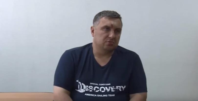 """В сети появилось видео допроса """"украинского диверсанта"""" Панова"""